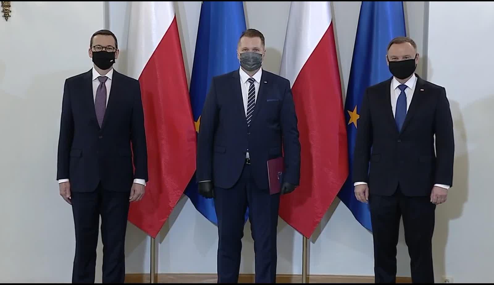 Przemysław Czarnek powołany na ministra edukacji i nauki [FILM] – Polskie Radio Lublin