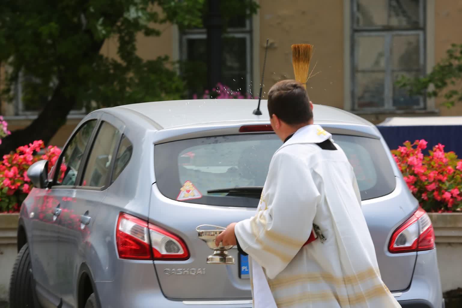 """""""Na drodze trzeba być dobrym chrześcijaninem"""". Dzień św. Krzysztofa [ZDJĘCIA] – Polskie Radio Lublin"""